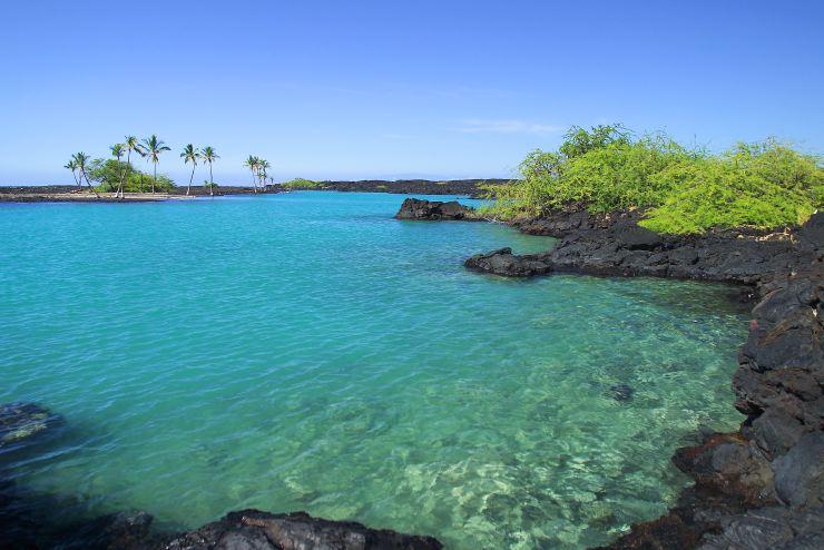Kiholo Bay on the Big Island Hawaii