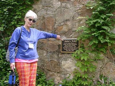 Denise Stelloh at the start of Bobbys Walk