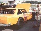 Steve Cavanah , Nashville Fairgroumds Speedway. 1991