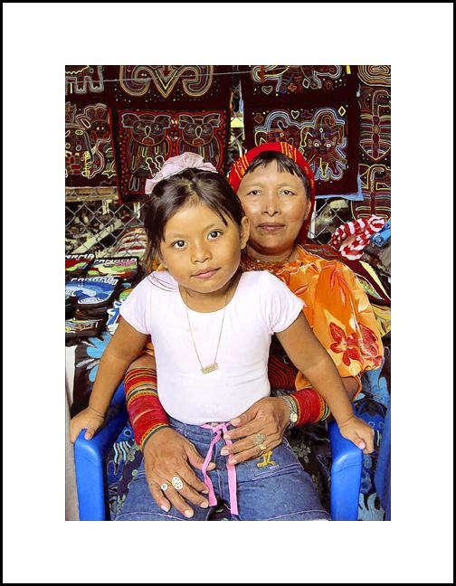 Michele & Her Grandmother Carmen