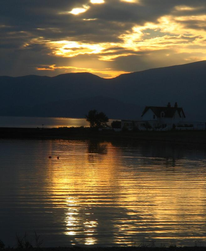Sunset From Onich