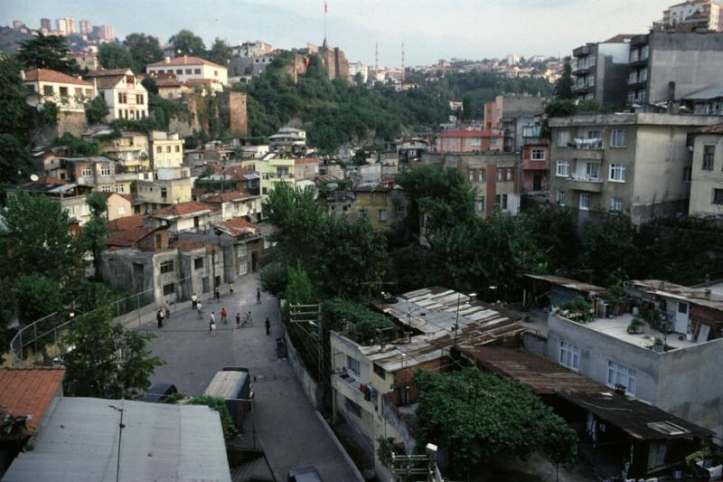 View with kale Trabzon