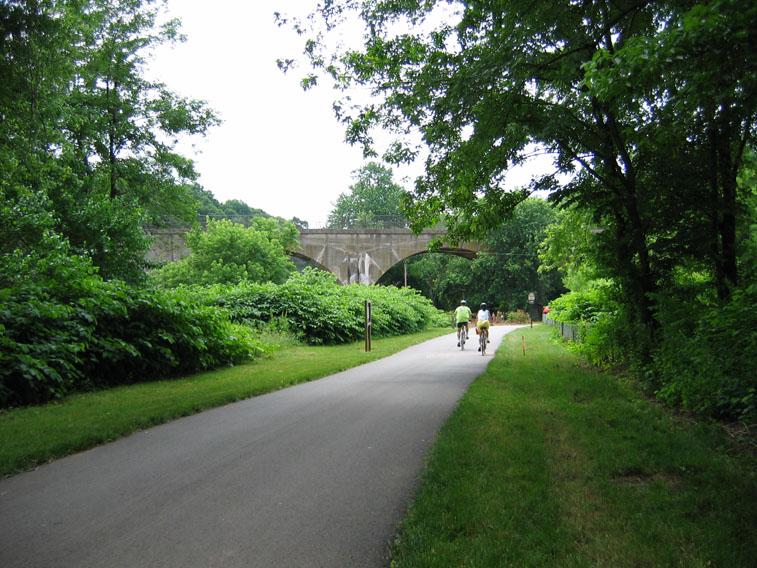 South End of Perkiomen Trail
