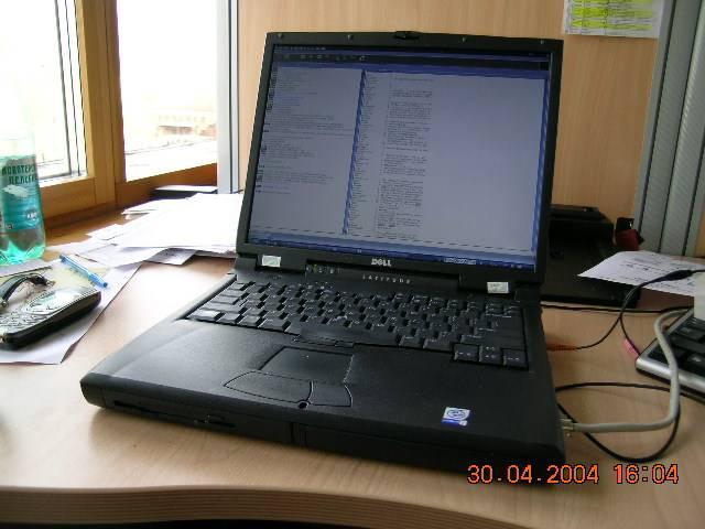 Dell C810 - previous laptop