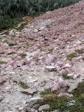 Pink Granite Basin Below Summit
