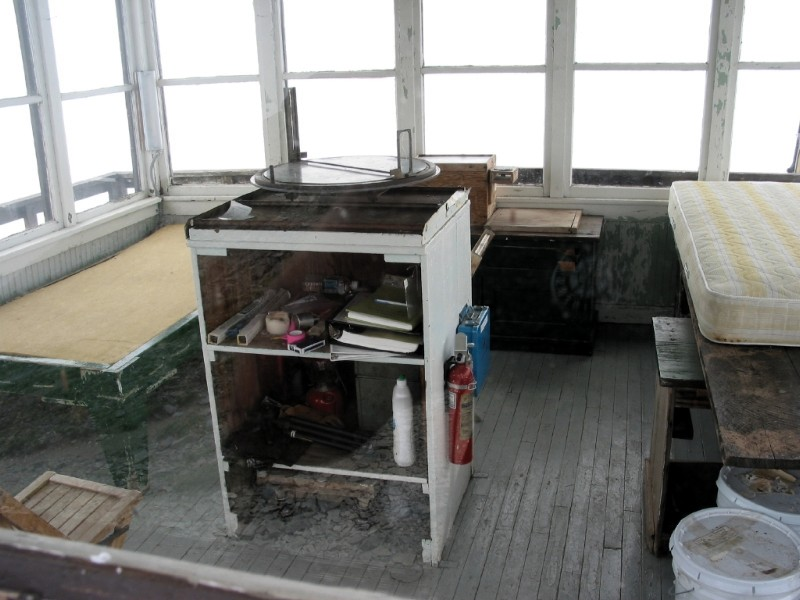 Fire Lookout Interior