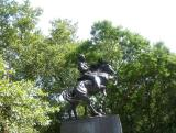 Rough Rider Teddy Rooselvelt Statue near CPS & 6th Avenue