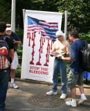 Veterans Group Protesting Iraqi War