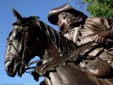 Horseman (Sculpture in Santa Fe, NM)