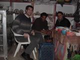 Drinking tea and making friends in Wadi Musa