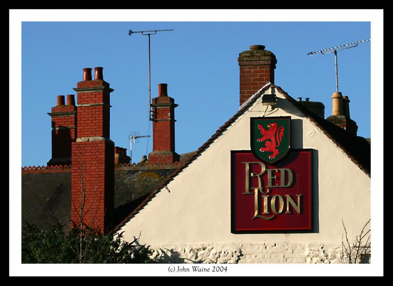 Red Lion rooftops