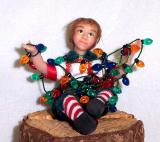 Tangled up Elf (SOLD)
