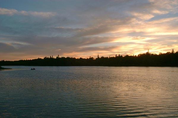 Sun is setting...