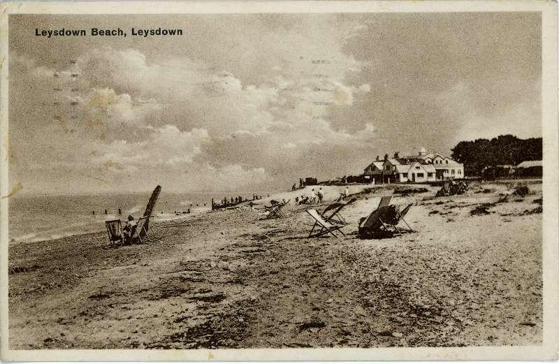 Leysdown Beach 1946