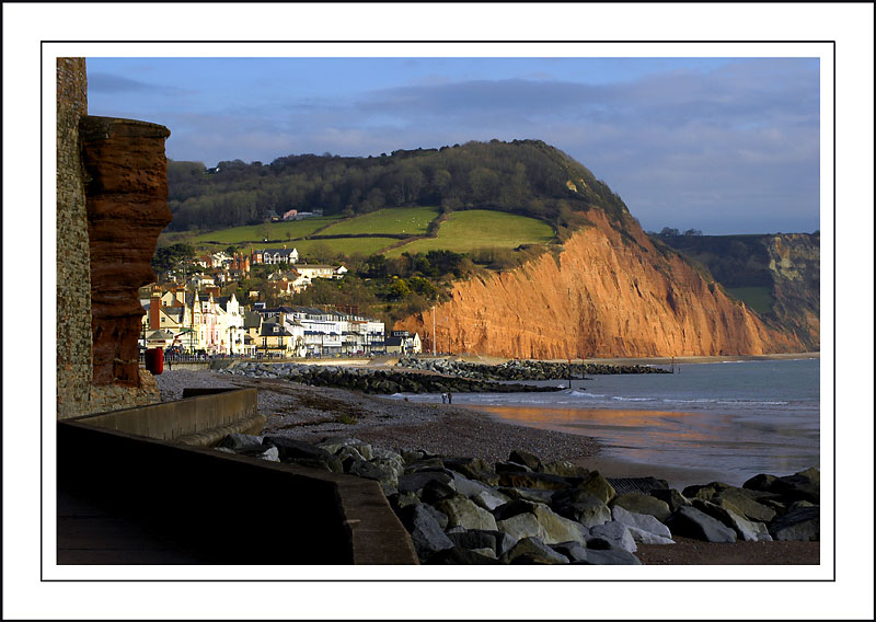 Undercliff and town, Sidmouth (1830)