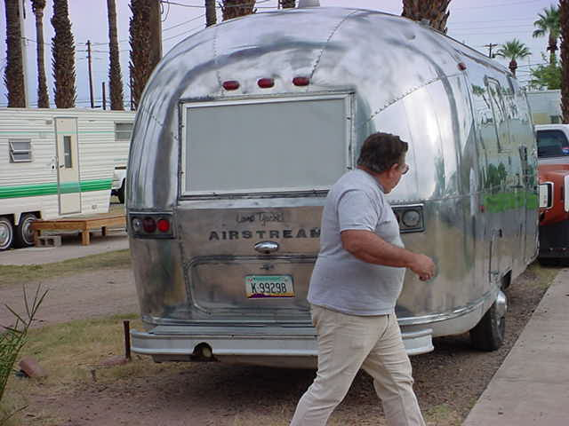 Rick and airstream