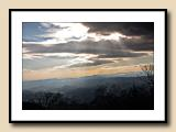 Blue Ridge, Late Winter Afternoon