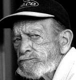Old man in cap