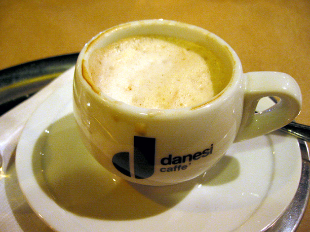 4-course dinner - capucinno