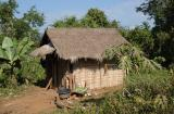 Hut for one, Laos