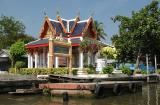 One of the temple along the Klong