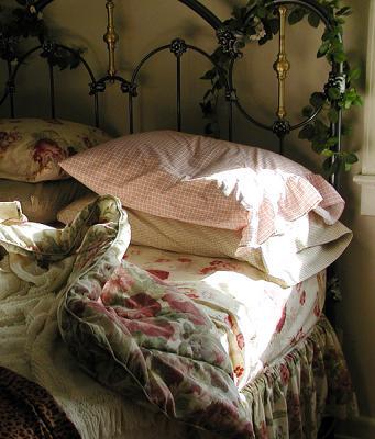Morning Sun On My Pillow