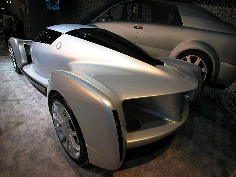 GM Experimental Hydrogen Fuel Cell car