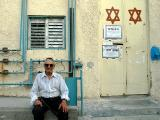 In Front Of The Synagogue