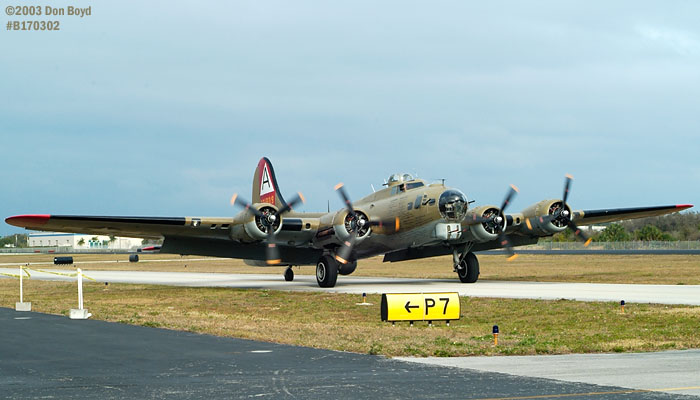 Collings Foundation B-17G Nine-o-Nine #44-83575 aviation warbird stock photo #3313
