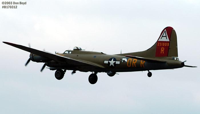 Collings Foundation B-17G Nine-o-Nine #44-83575 aviation warbird stock photo #3326