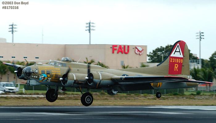 Collings Foundation B-17G Nine-o-Nine #44-83575 aviation warbird stock photo #3336