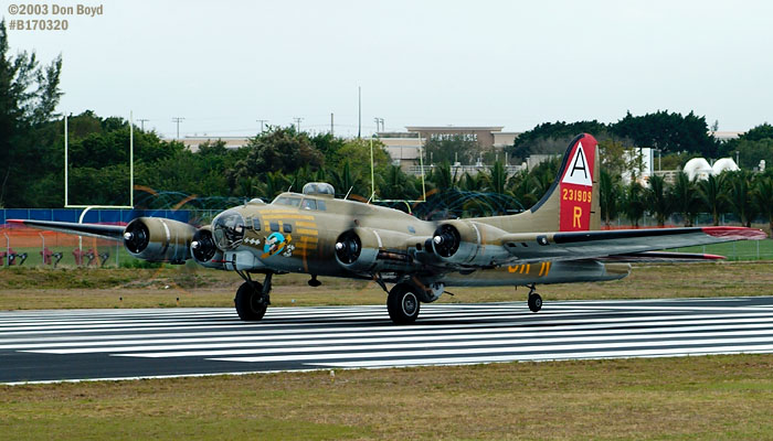 Collings Foundation B-17G Nine-o-Nine #44-83575 aviation warbird stock photo #3344
