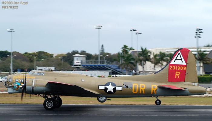 Collings Foundation B-17G Nine-o-Nine #44-83575 aviation warbird stock photo #3346