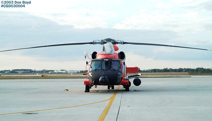 2003 - USCG HH-60J Jayhawk #CG-6015 at Air Station Miami - Coast Guard stock photo #3251