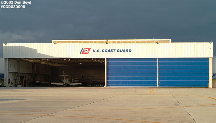 2003 - USCG Air Station Miami Falcon hangar (rebuilt) - Coast Guard stock photo #3254