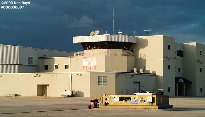 2003 - USCG Air Station Miami ramp control tower - Coast Guard stock photo #3256