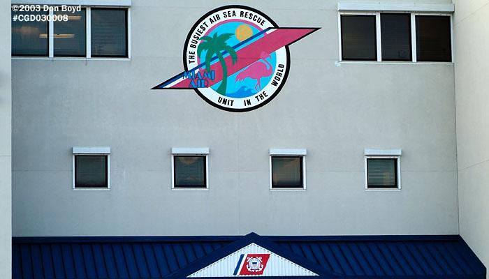 2003 - USCG Air Station Miami hangar entrance - Coast Guard stock photo #3257