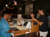CSA Al checking in Pastor & Mrs. Danny Yamashiro