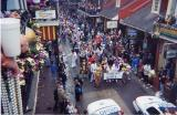 Krewe Of Elvis Parade on Bourbon Street