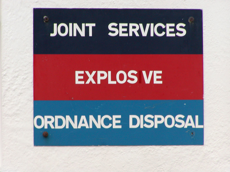 Bomb Disposal Unit, Port Stanley