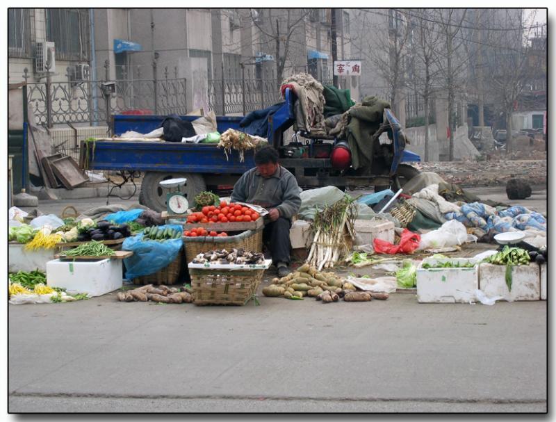 Street vendor, Jinan