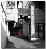Market alley, Kunming