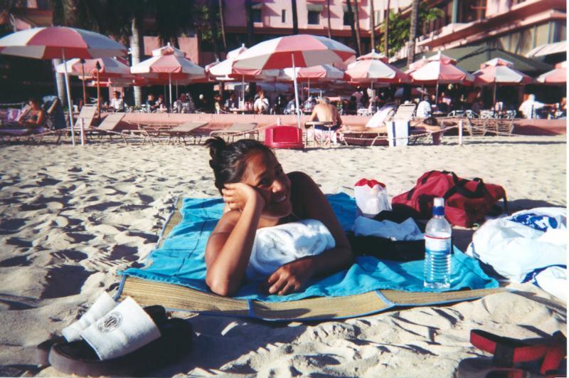 2000 - Kelly - Waikiki Beach
