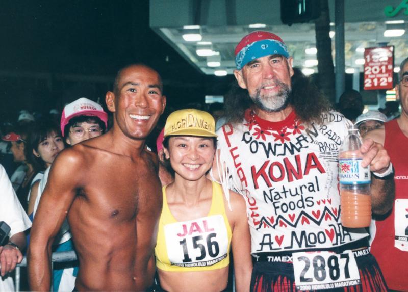 2000 - Glenn, Teshs Wife & Cow Man