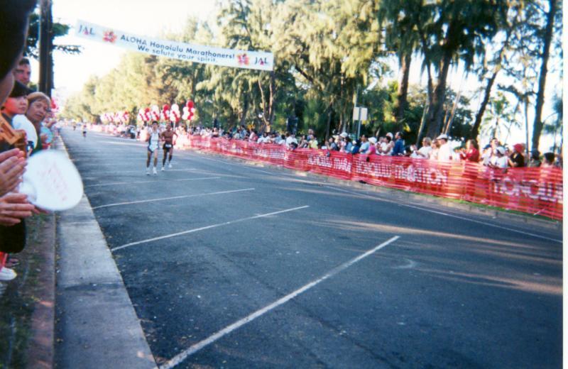 2000 - Honolulu Marathon