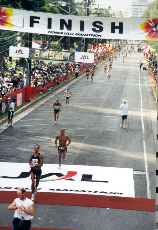 2002 - Honolulu Marathon