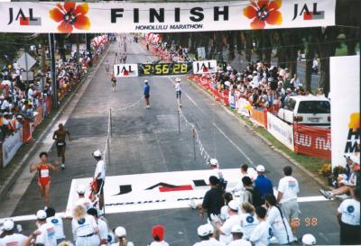 1998 - Honolulu Marathon
