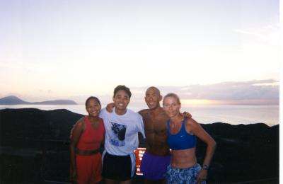 1999 - Kelly, Mike, Glenn & Janeen on Diamond Head