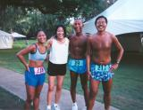 2000 - Kelly, Kari, Glenn & Val - Kapiolani Park