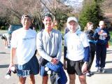 Glenn T, Tony C & Ron A -- Trish R & Uli S in Background